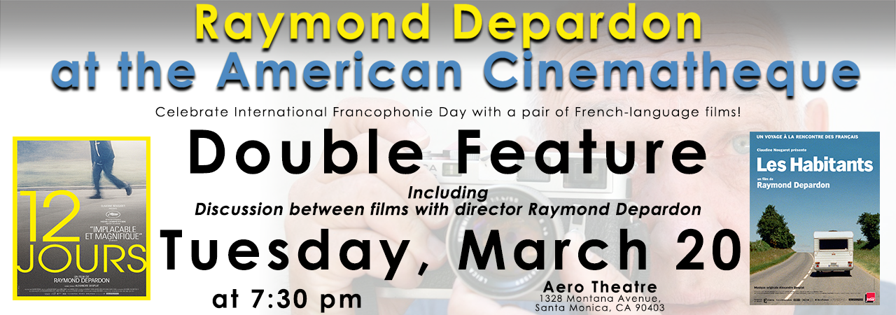 Raymond Depardon American Cinematheque March 2018 Los Angeles Alliance Francaise