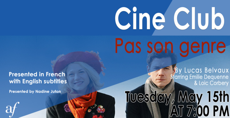Cine Club May 2018 Pas Son Genre, French